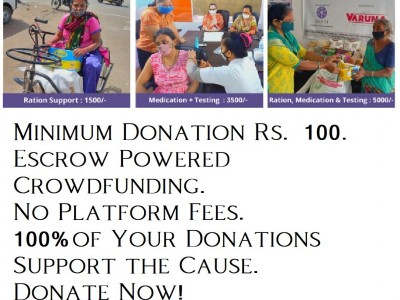 Saath Charitable Trust - Crowdfunding campaign to save lives from Covid